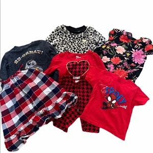 Girls 3T bundle of tops, bottoms and dresses.